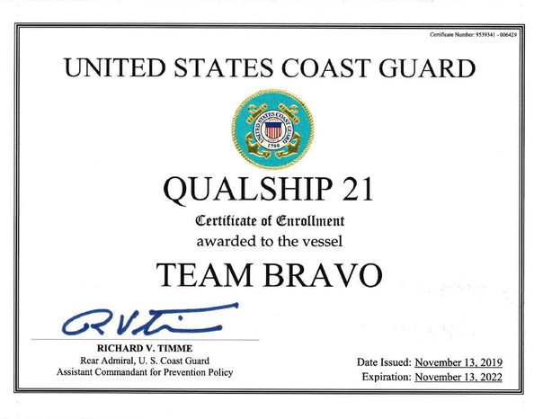 m/v Team Bravo