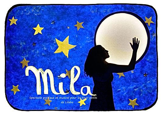 mila, un spectacle pour les tout-petits.