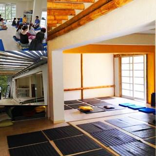 Sala de meditación (con fotos del antes y el después de la adecuación en 2019)