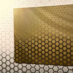 """Honeycomb"" Geometric Mirror"