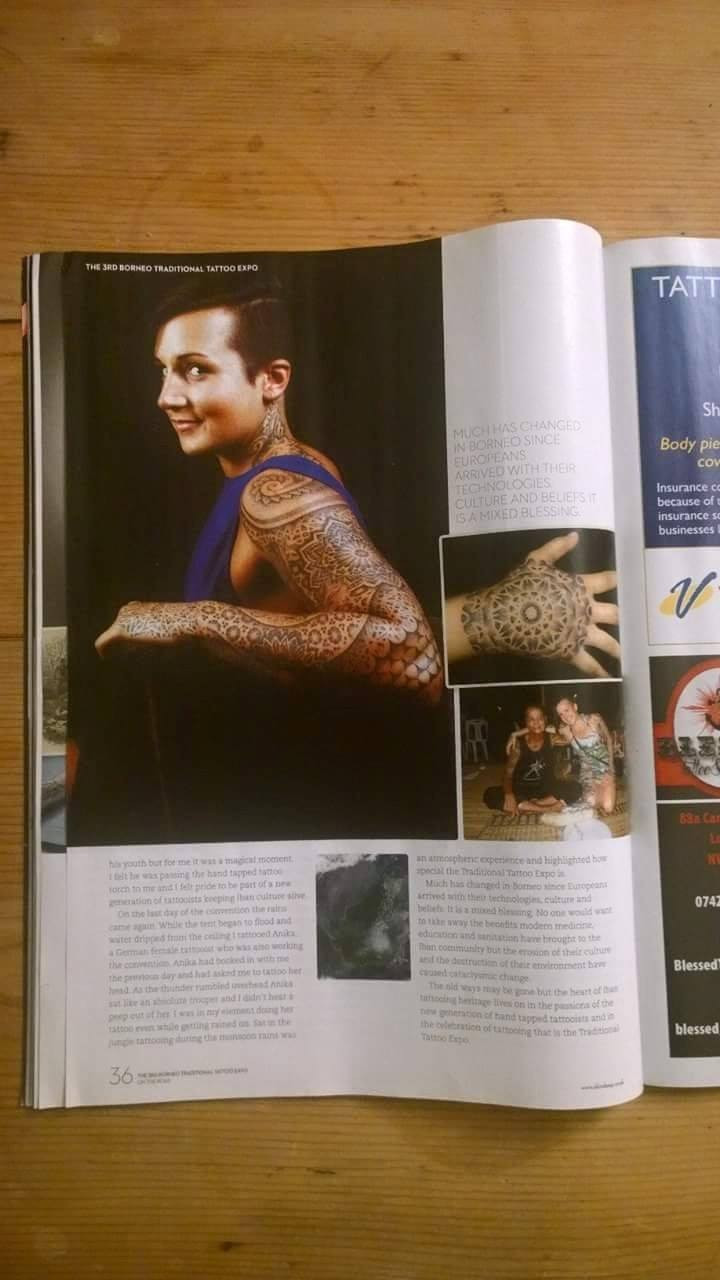 FadeFX | SkinFX -  Borneo Traditional Tattoo Expo Feature