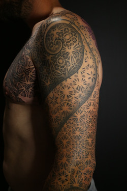 Dotwork sleeve