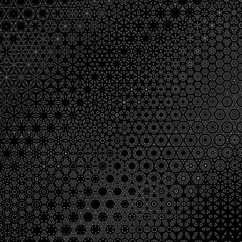 """Crystal"" Geometric Wallpaper"