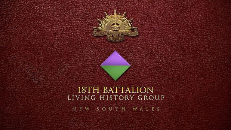 18th Battalion WW1 Group Sydney