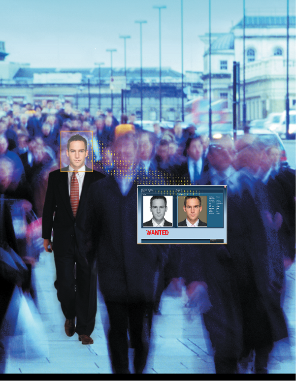 Face Tracking in the crowd / Security solution