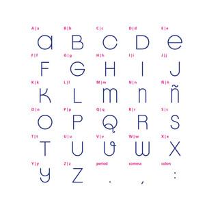 tipografía | hábitat