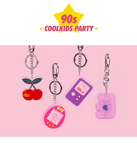 「B ON D」 90S COOLKIDS PARTYキーリング