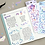 Thumbnail: 「ICONIC」コンフェティホログラムステッカー6種セット