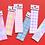 Thumbnail: 「SECOND MANSION」ハイティーンアルファベットシール6種セット