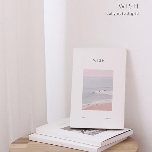 「DASH&DOT」WISHデイリーノート
