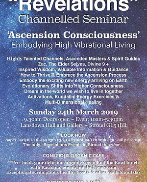 Revelations Ascension Consciousness C Fl