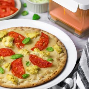White Tofu Pizza