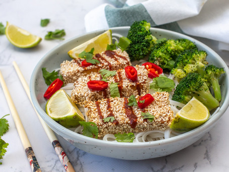 Crispy Sesame Tofu