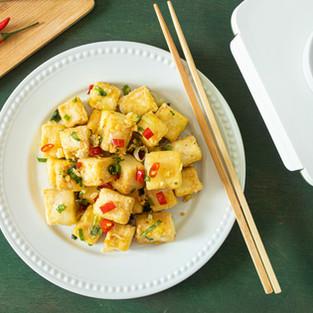 Chili Garlic Tofu