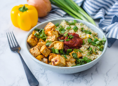 Tofu Tex-Mex Bowl