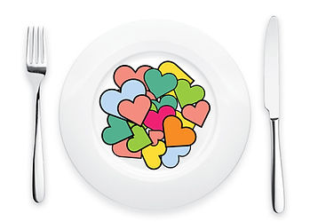 white-plate-with-love-real-fork-and-knif
