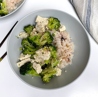 Broccoli with Tofu