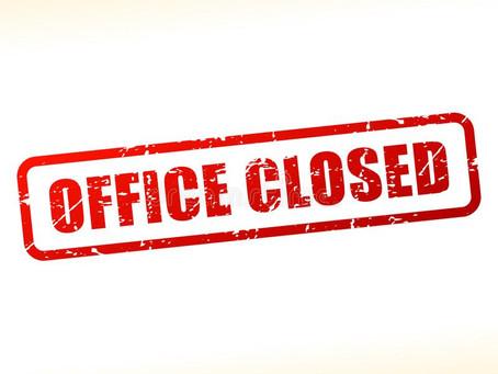 Bloemfontein office closure