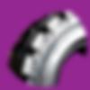 nexen solidpro allprohp pob press-on solidtire solidtyre resiliant solid tire solid tyre