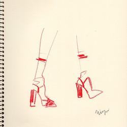 red  #illustration #fashion #fashionillu