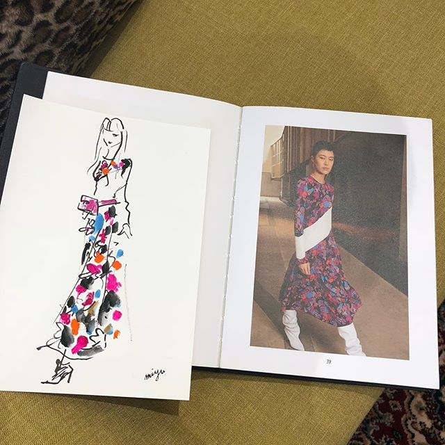 Drawing event at GIVENCHY