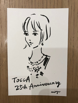 "TOCCA ""25th Anniversary party 5 years in GINZA"""