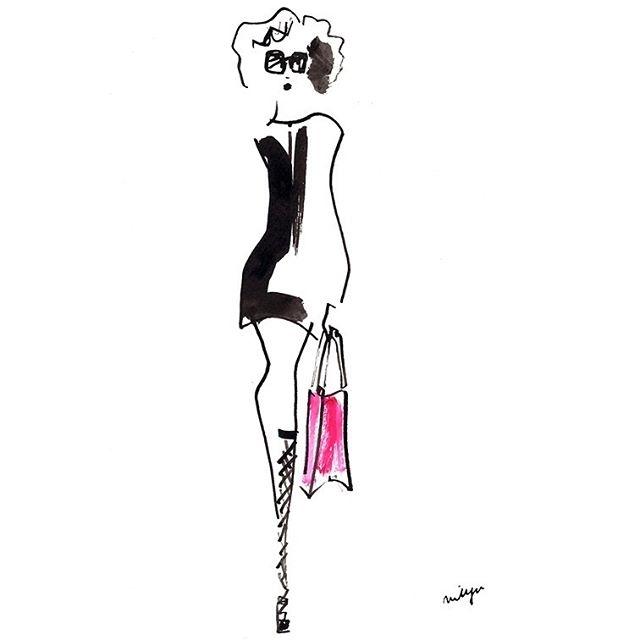 Christian Dior #fashiondrawing #fashioni