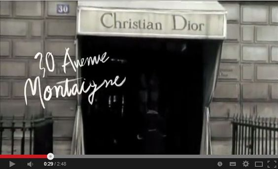 """The story of Miss Dior"" film"
