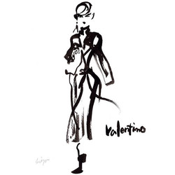 Valentino #illustration #fashion #fashio