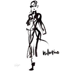 Valentino #illustration #fashion #fashio