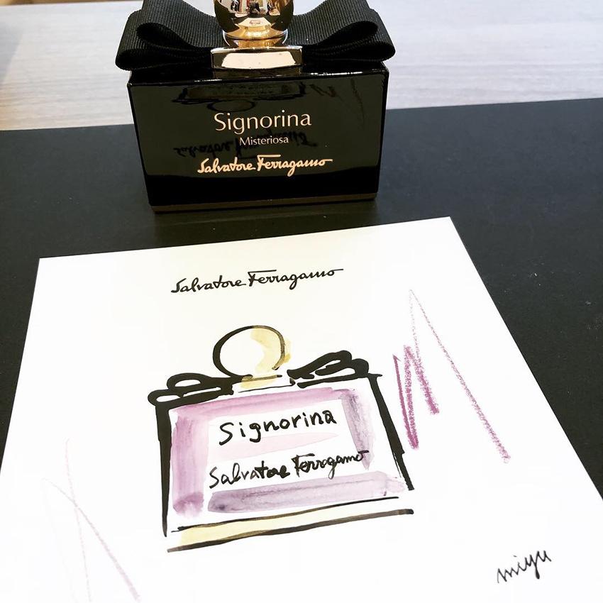 Ferragamo大阪梅田本店 顧客イベント