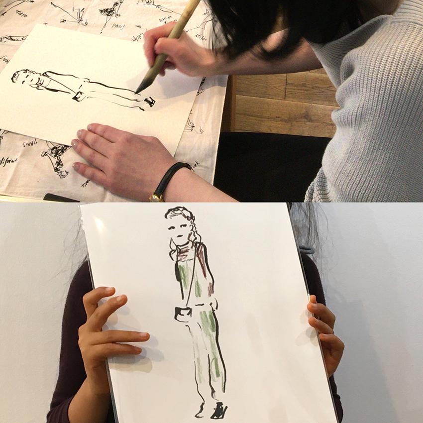 個展「WOMAN」
