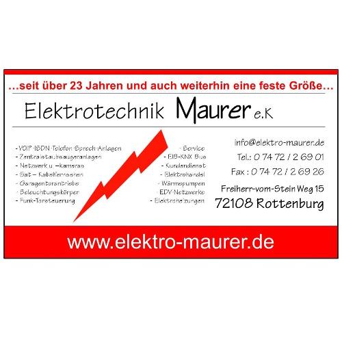 Elektrotechnik Maurer