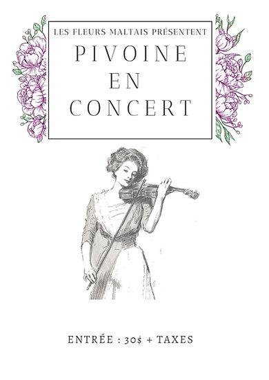 Billet concert musique de films 27 juin et 15 juillet