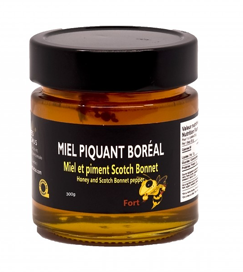 Miel et piment Scotch Bonnet 300gr