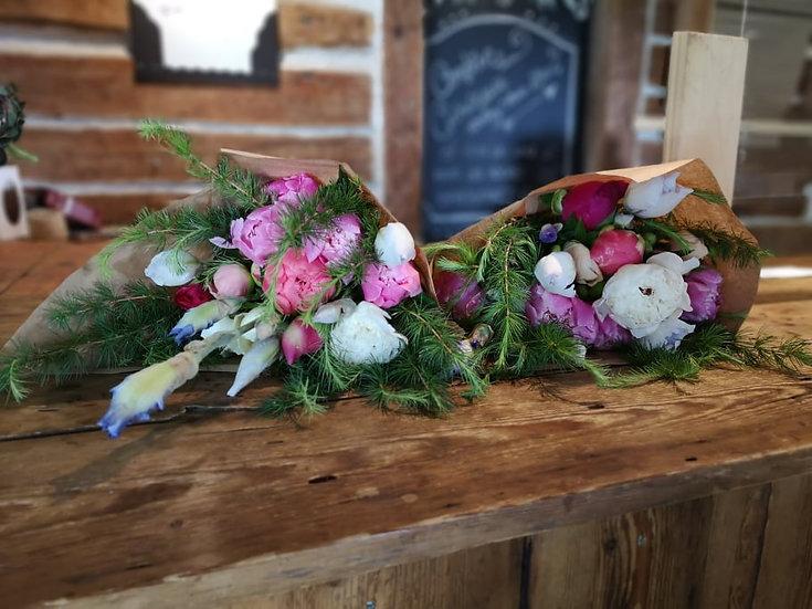 Bouquet attaché