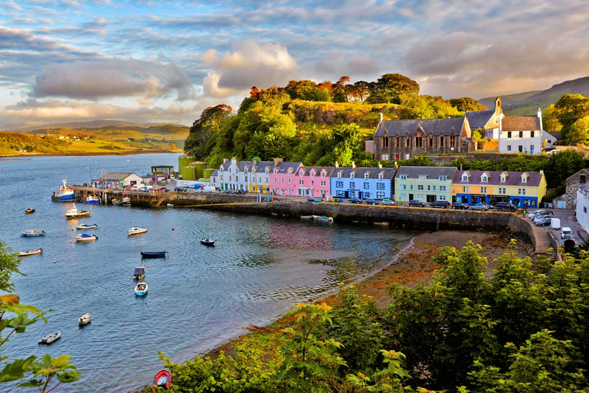 Portree-Scotland