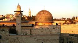 al-Aqsa-Jerusalem sunset