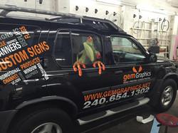 Gem graphics vehicle lettering   Sig
