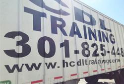 Truck lettering Sign shop Rockville