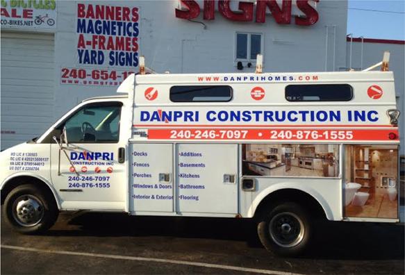 Truck wrap | Sign shop Rockville
