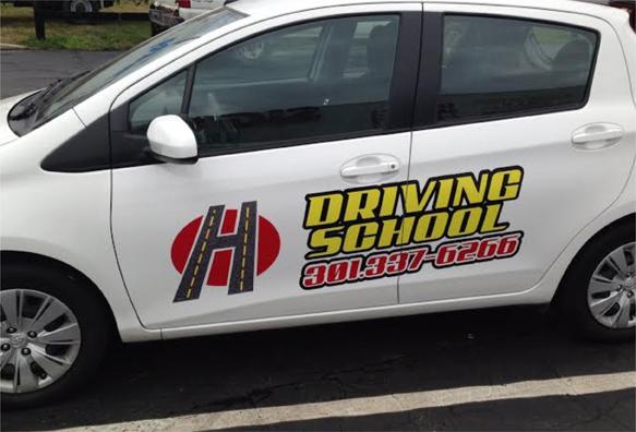 Car graphics | Sign shop Rockville