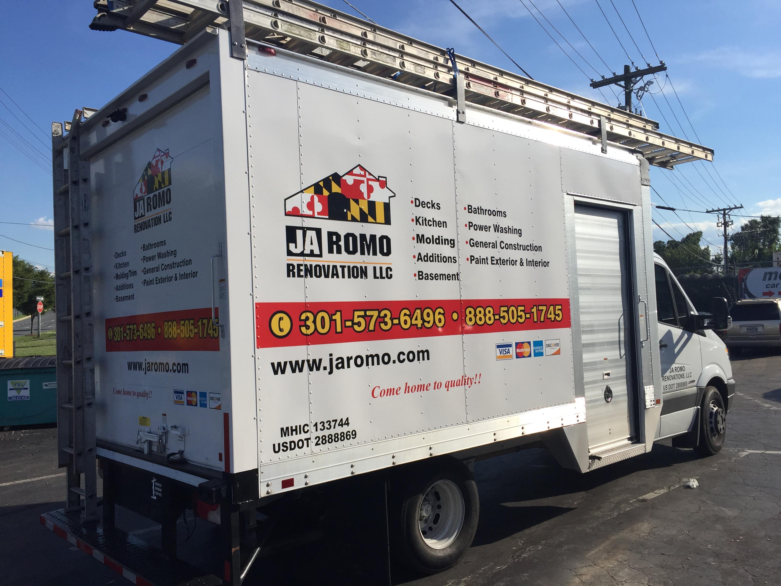 truck lettering | Signs in Rockville