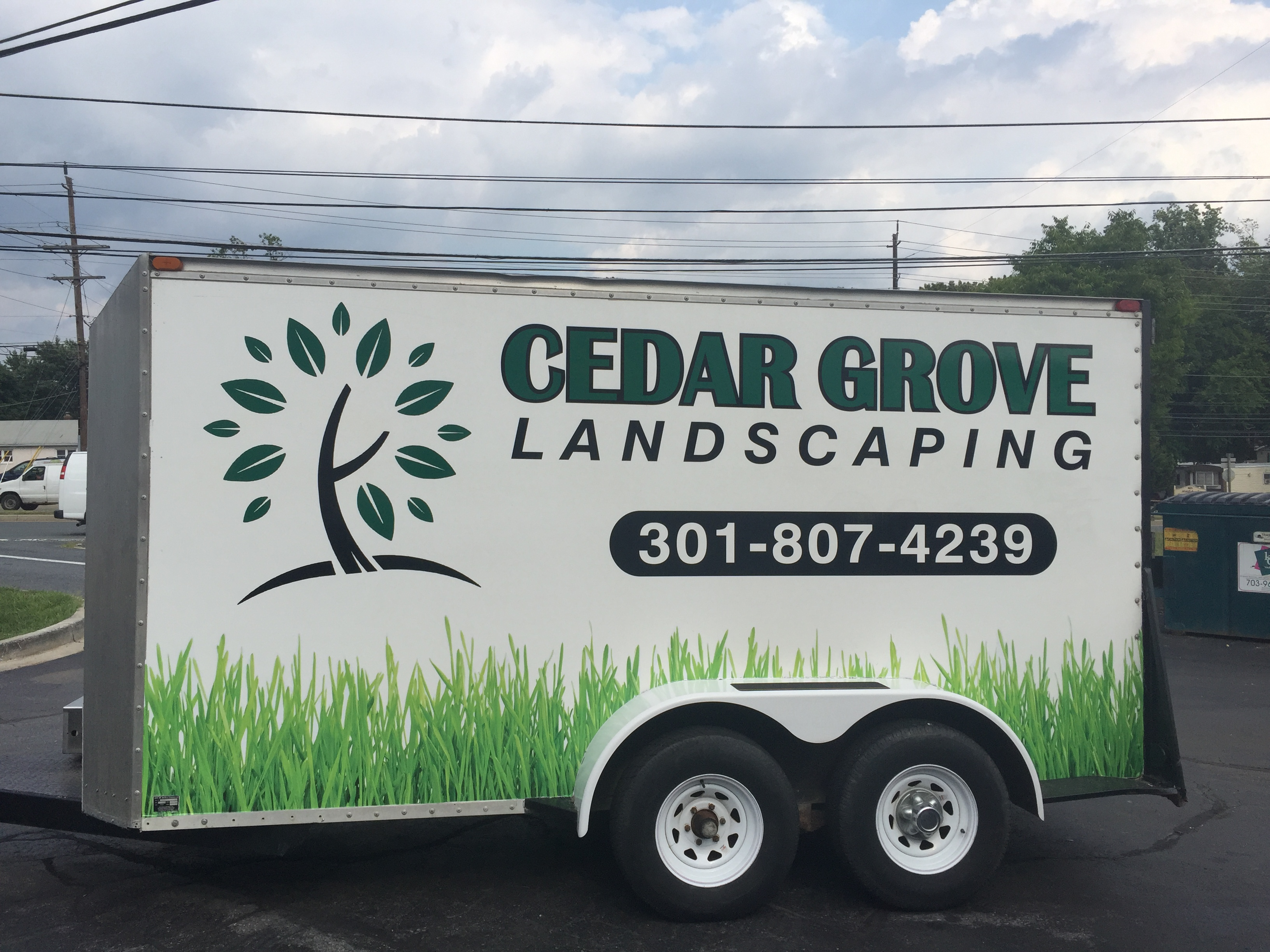 trailer lettering services | Signs i