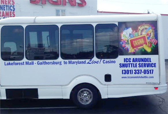 Bus graphic | Sign shop in Rockville