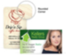 round corners business cards  | Printing in Rockville