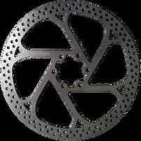 Electric bike kit brake disc compatible