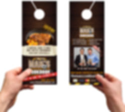 door hangers printing | Signs in Rockville