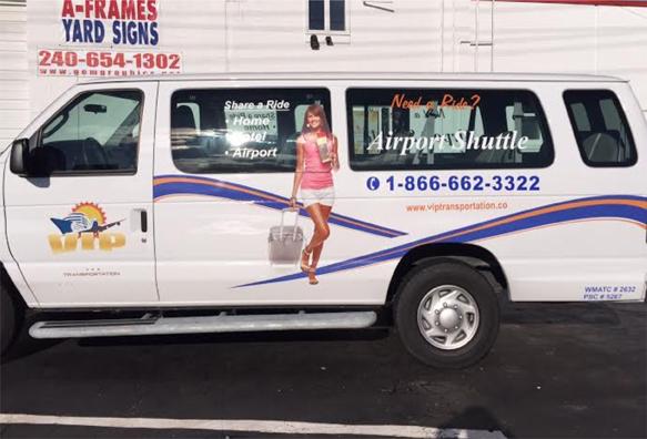 Van lettering | Sign shop Rockville