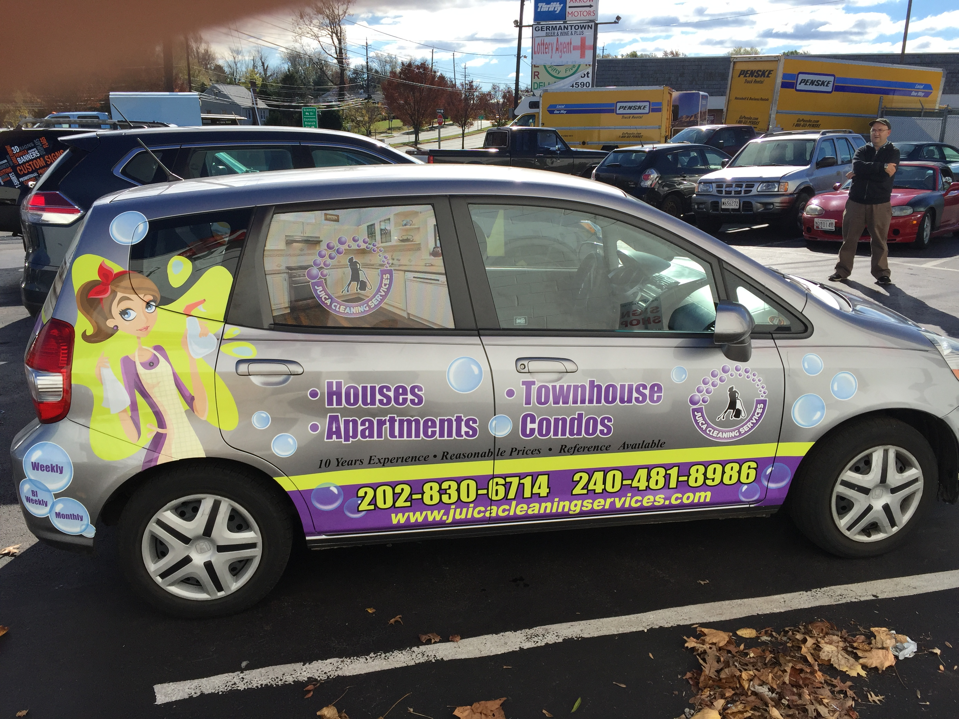 small partial wraps | Signs in Rockv